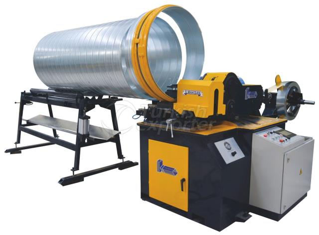 Spiral Duct Machine With Mold