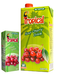 Tropical Sour Cherry Drink