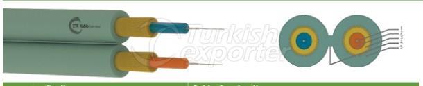 Fiber Optic Cables -Duplex Zipcord - J-V(ZN)H