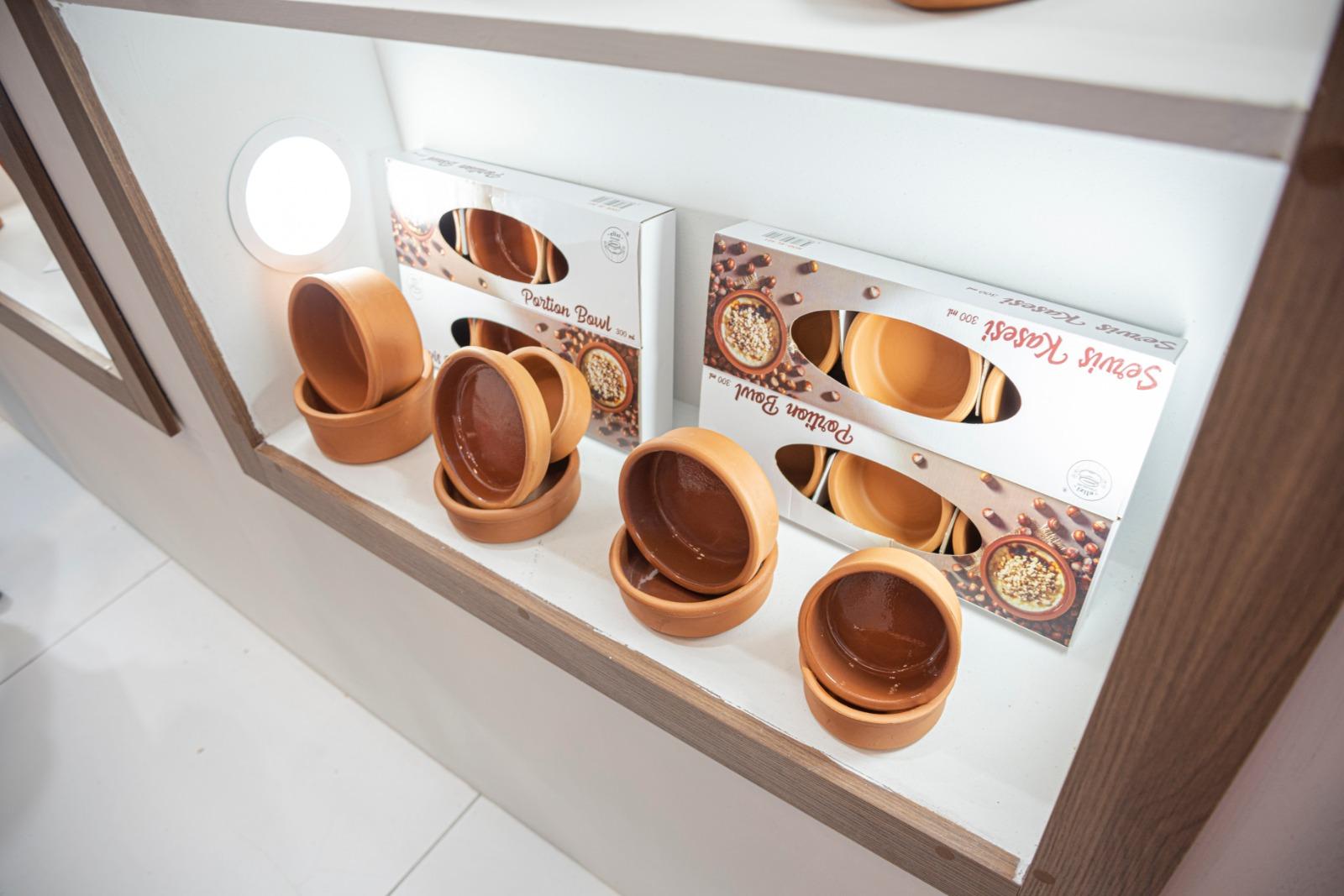 Earthenware Glazed Rice Pudding Bowl