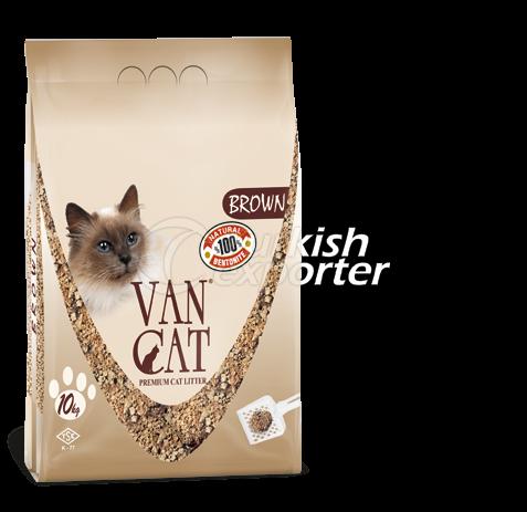 Cat Litter  -Brown