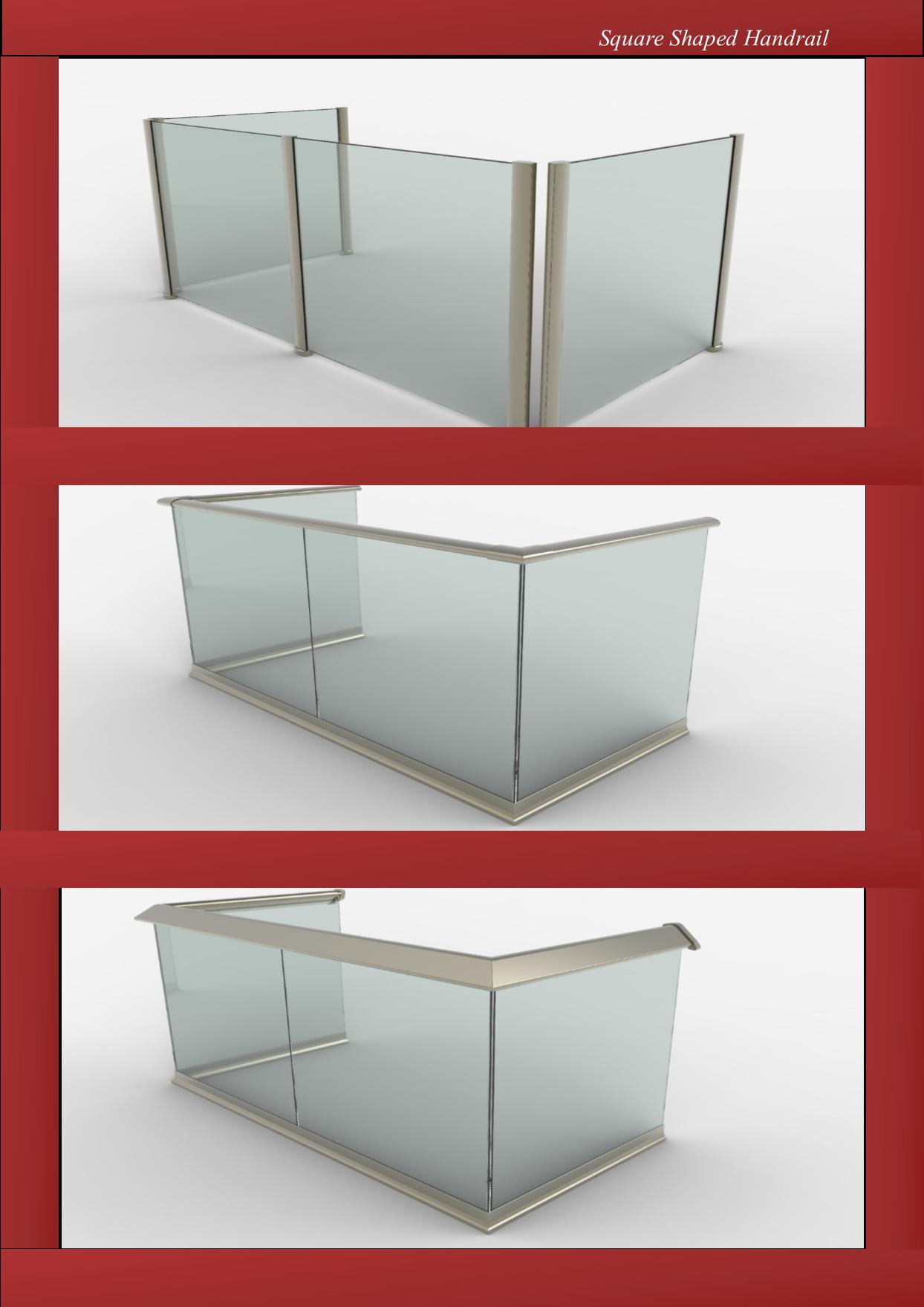Aluminium Handrail