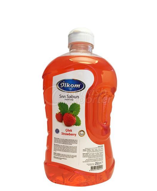 Sabão Líquido 2000 ml Fragrância com morango