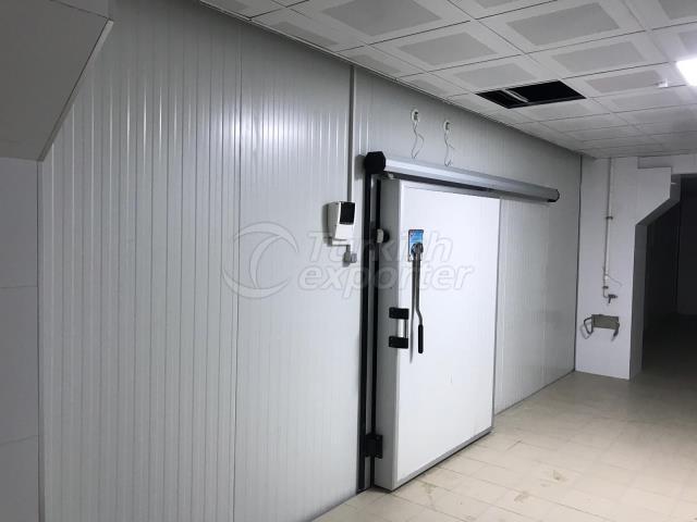sliding door 15cm for blast freezer