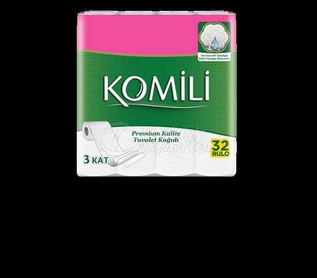 Komili Premium Toilet Paper 32 Rolls