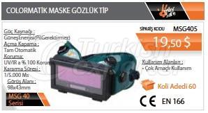 Colormatic Mask Tipo de óculos