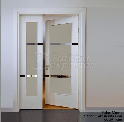 Porte en bois Fides Glassed
