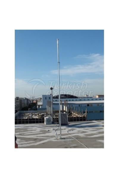 Wind Turbine Pole Set 4m