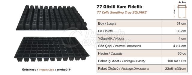 77 Cellules de semis