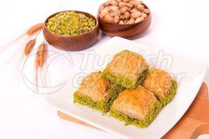 Baklawa - Shobiyet with Pistachio-Cream Filling