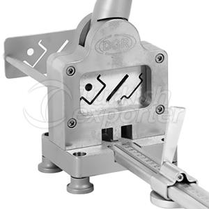 RK4M-2 Din Rail,Tie Rod,Copper Busbar Cutter and Din Rail Punch Tool 4 Socket
