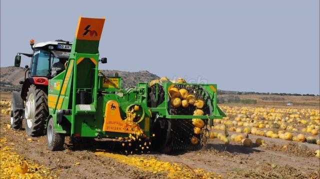Récolteuse de graines de citrouille