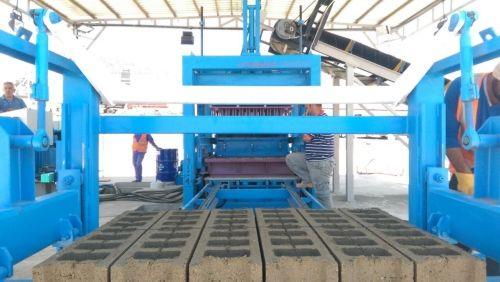 Concrete Block and Interlock Making Machines _5_
