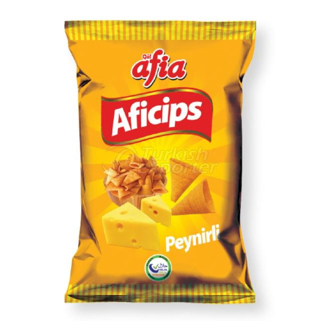 1461-AFICIPS CORN CHIPS WITH CHEESE 65 GR.