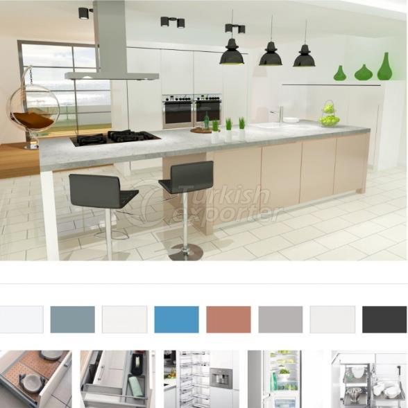 أثاث المطبخ - الديكور كريستال