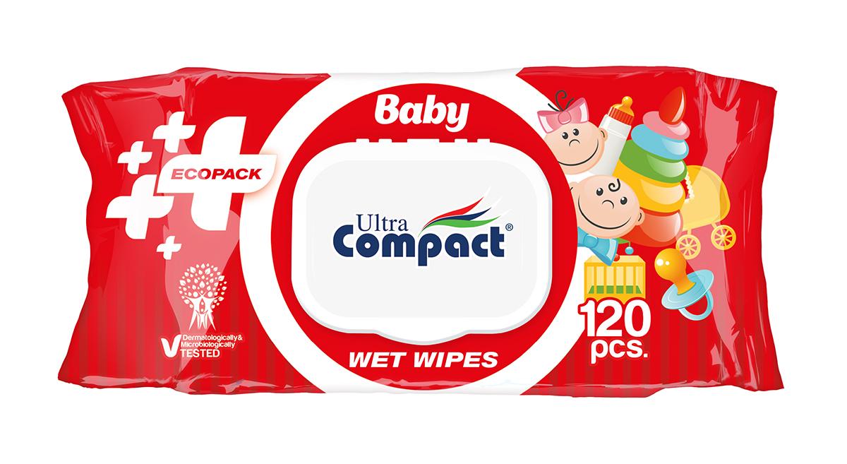 BABY WET WIPES 120 PCS