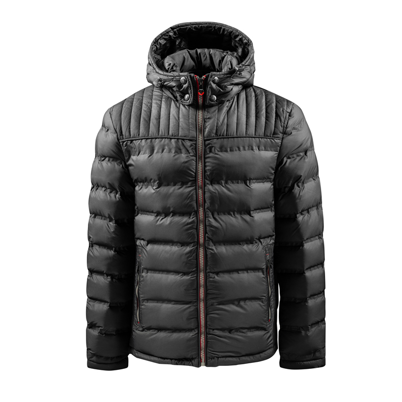 Men's Stock Lot Hooded Padding Jacket