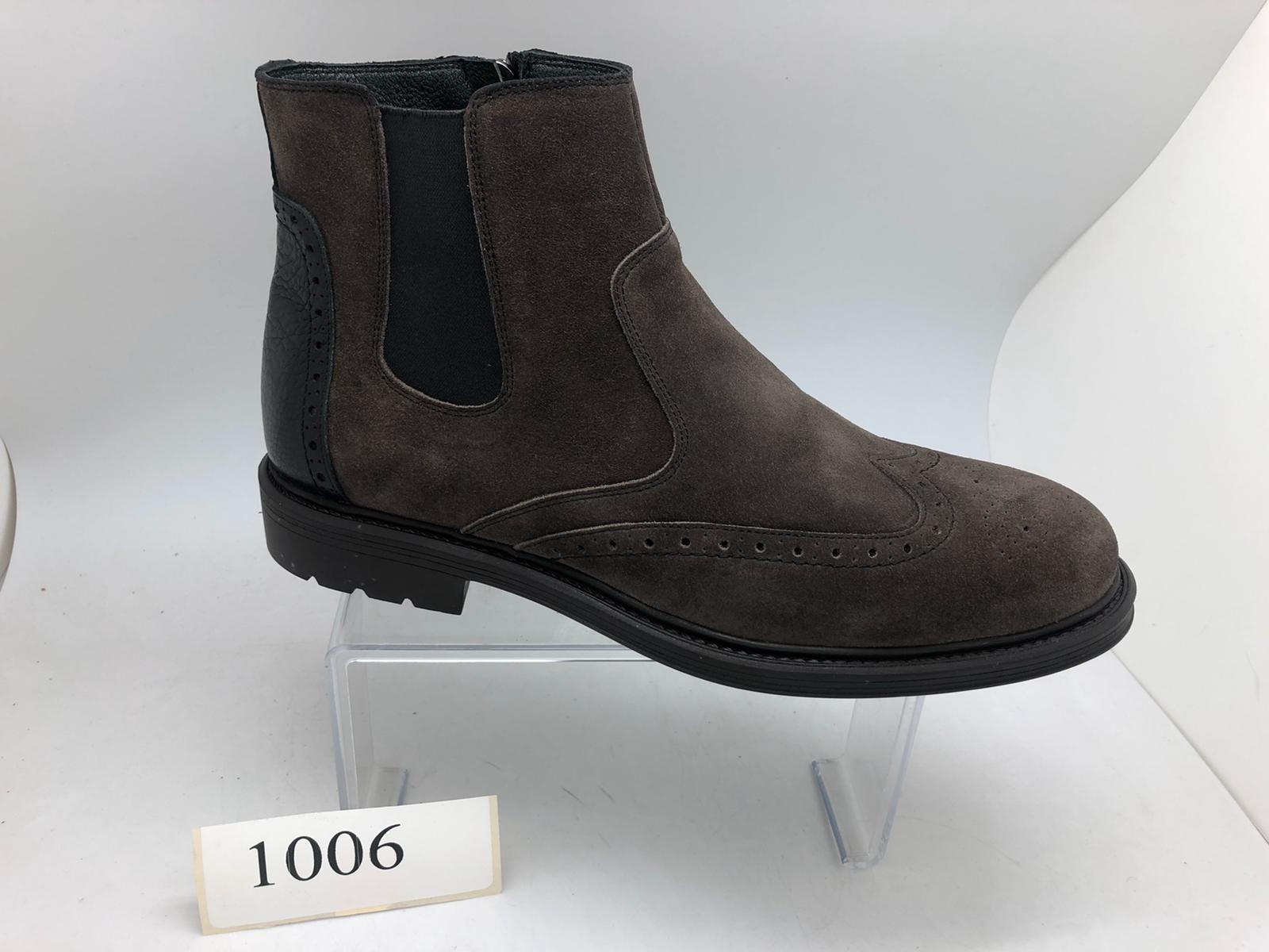 1006 Kauçuk Taban Süet bot