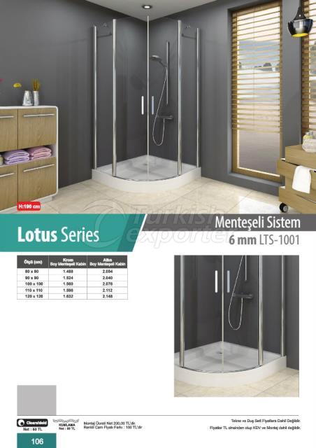 كابين استحمام مفصلي Lotus