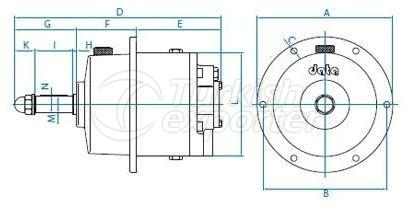 Hydraulic Cylinder DP63-75-88