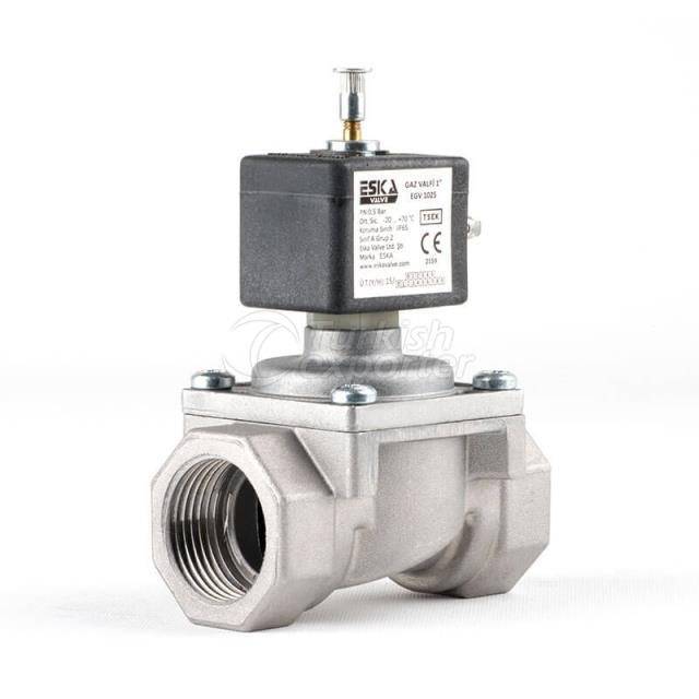 Manual Reset Gas Valve EGV
