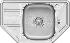 Inset sink 770x480 mm