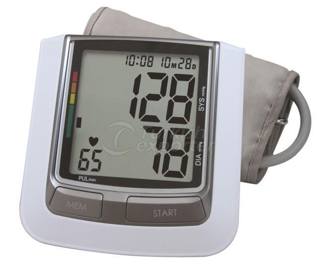 Monitor de presión arterial hablando