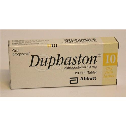 DUPHASTON 10 MG 20 TABLETS