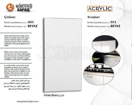 Goktas Acrylic White 501