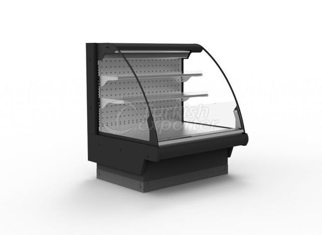 خزانة مبردة قابلة للربط مع عدادات شبه عمودية TIGER DP