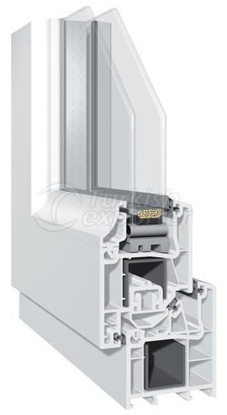 Ecoline 60 plus pvc window