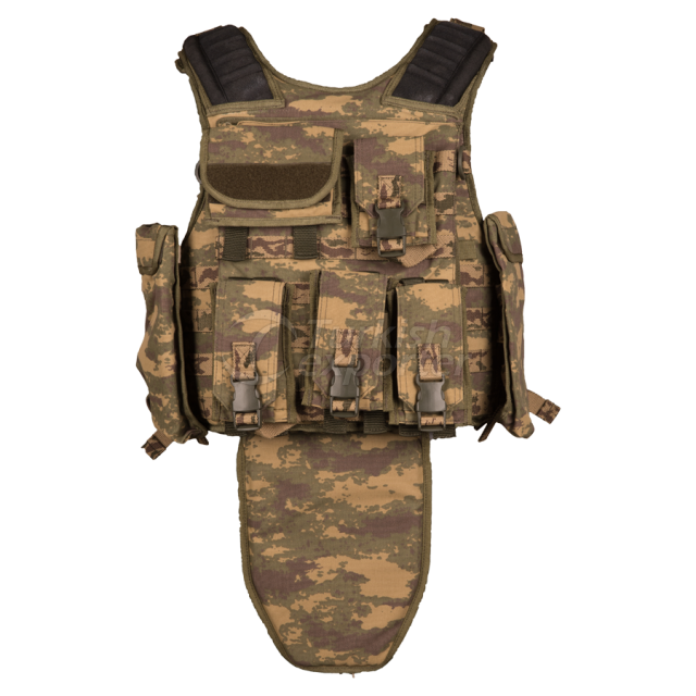 Tactical Vest with Side Plate