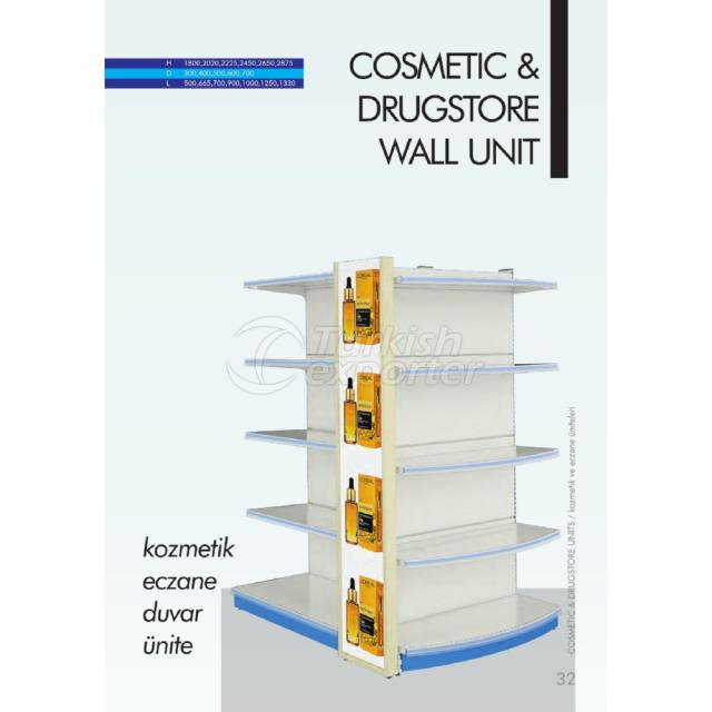 Cosmetic - Drugstore Wall Unit