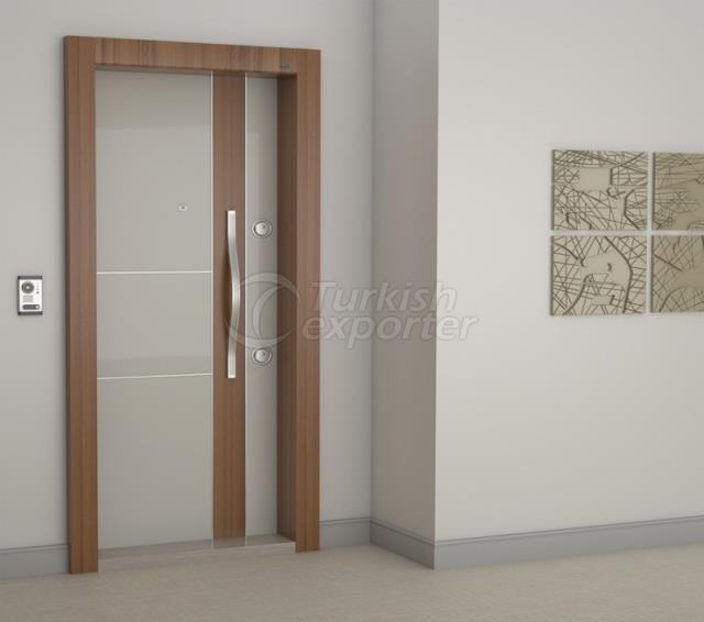 Steel Door  -PRE 404 SINE