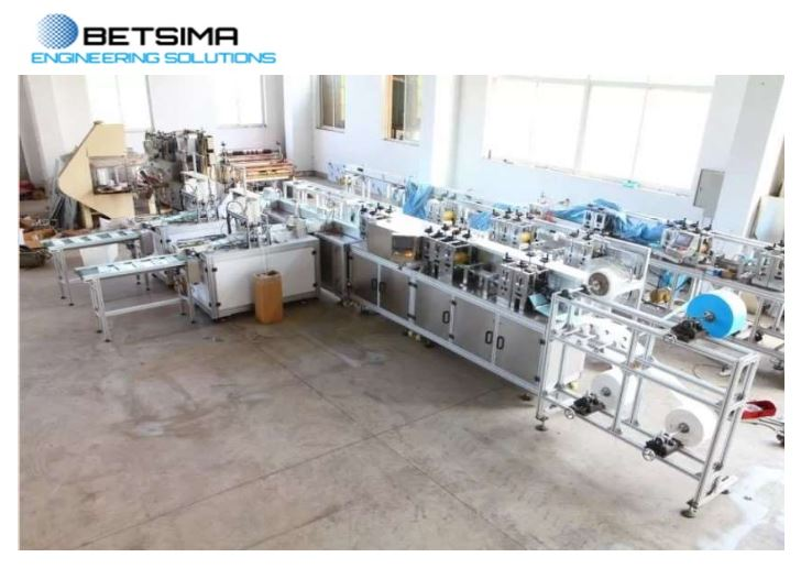 Full Automatic Surgical Mask Production Line (Ultrasonic WElding)