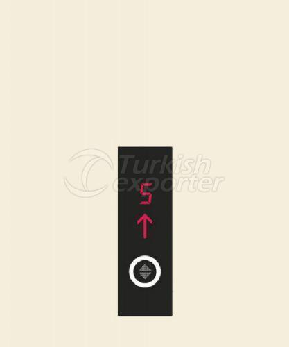 Elevator Button GTT301-LCD