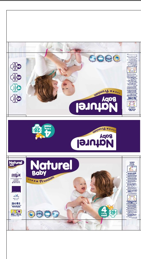 9-18 kg maxi naturel baby premium