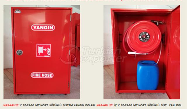 Gabinete de fuego de espuma
