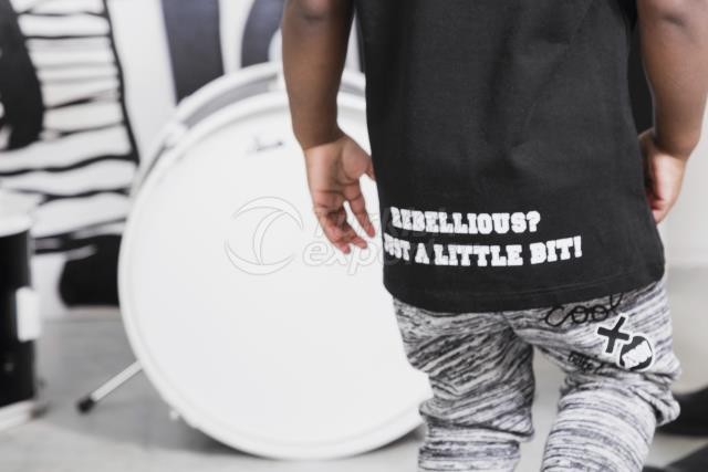 Rebellious Sweat Child Pants With Baddes