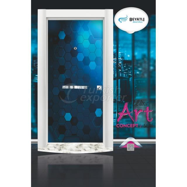 Steel Door - UA 702