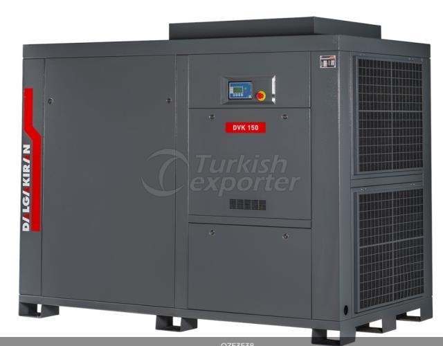 Screw Type Compressors-DVK  Series