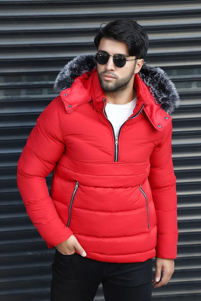 Coat for winter -  Red