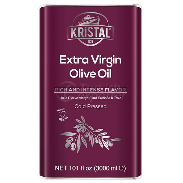 Extra Virgin Olive Oil 3L Tin Can