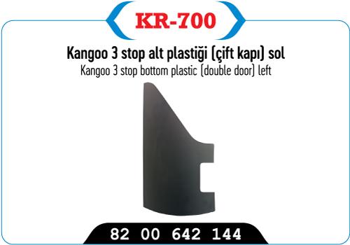KANGOO 3 STOP ALT PLASTIGI (CIFT KAPI )