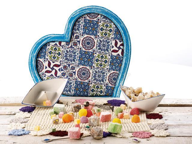 Fruit Turkish Delight