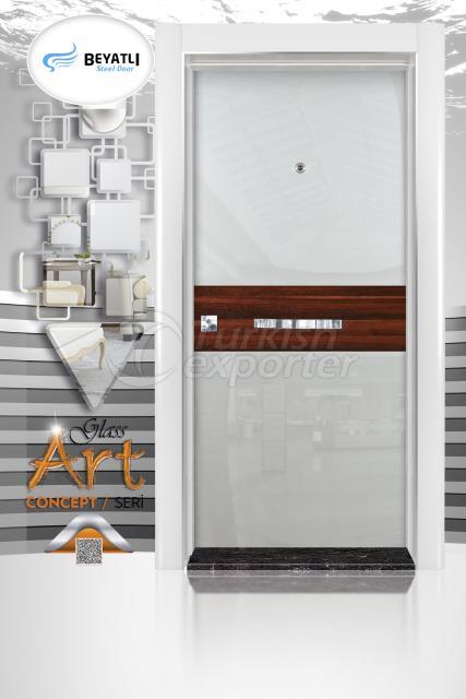 Steel Door - GLH 101