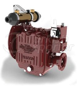 H100D Vertical Reduction Hydraulic Marine Gearbox