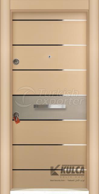 D-2022 ( PVC STEEL DOOR)