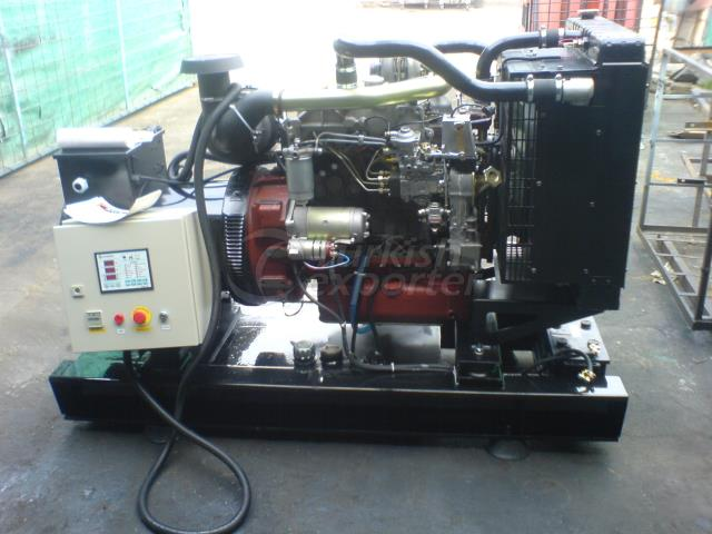 Groupes électrogènes diesel série SGR