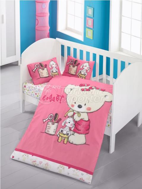 Roupa de cama de bebê
